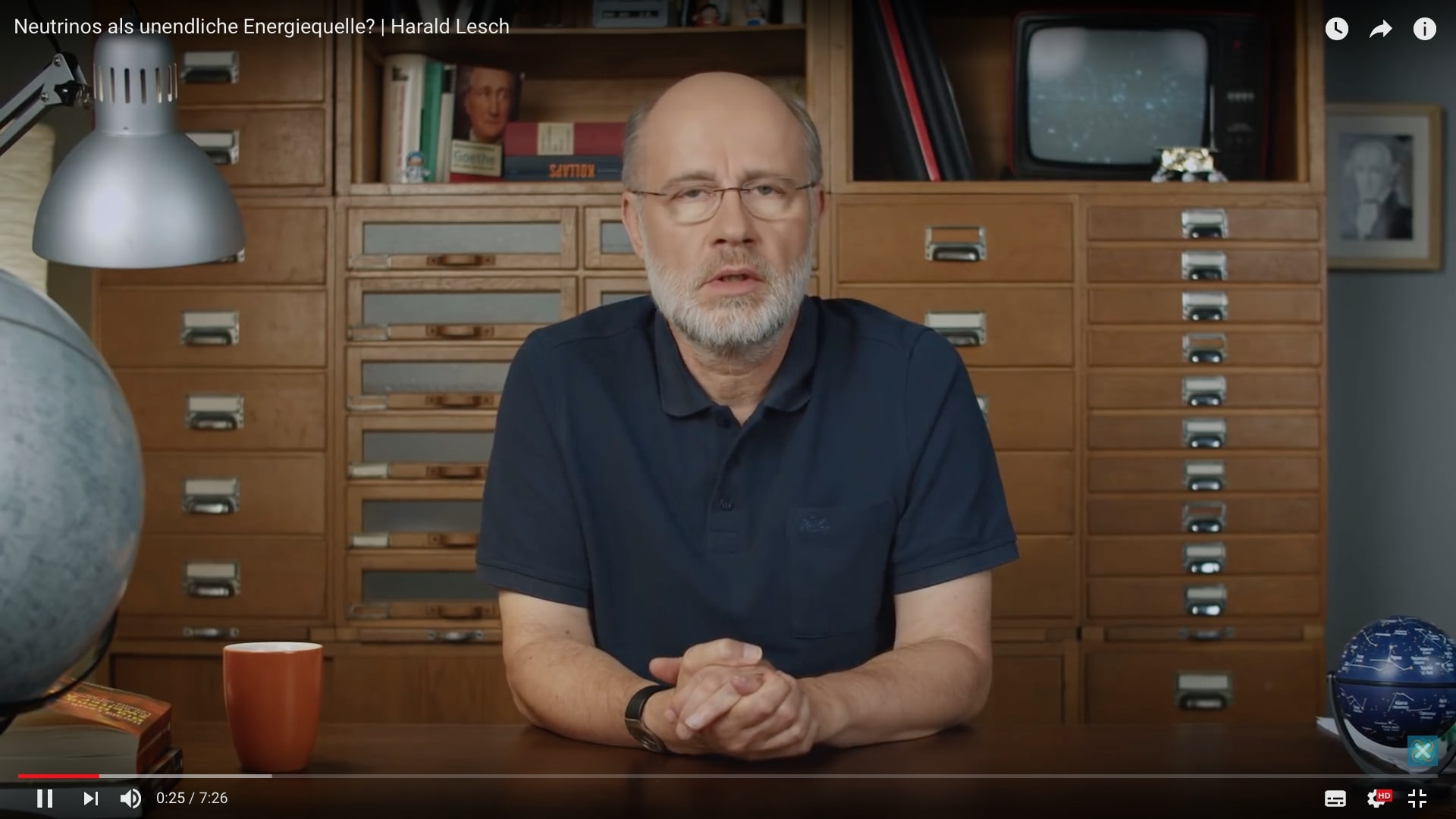 Harald Lesch Neutrinos